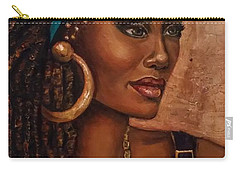 Carry-all Pouch featuring the painting Locks by Alga Washington