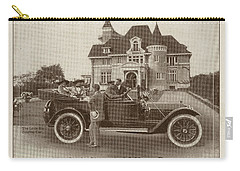 Carry-all Pouch featuring the photograph Locomobile Advertisement by Cole Thompson