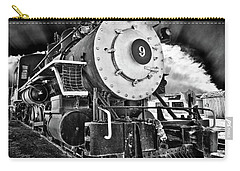 Locomotive Nine Carry-all Pouch by Marius Sipa