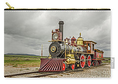 Carry-all Pouch featuring the photograph Locomotive No. 119 by Sue Smith