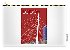 Lodo/maroon Carry-all Pouch