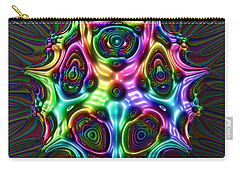 Carry-all Pouch featuring the digital art Loevolmazz by Andrew Kotlinski