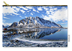 Lofoten Winter Scene Carry-all Pouch