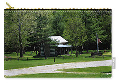 Log Cabin In Loudonville Carry-all Pouch