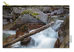 Log In The Rapids Carry-all Pouch
