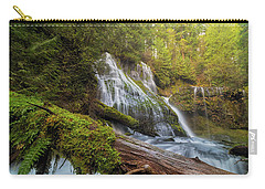 Log Jam By Panther Creek Falls Carry-all Pouch