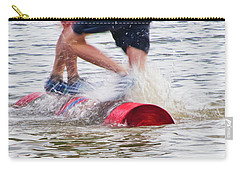 Log Rolling 1 - Madison - Wiscosnin Carry-all Pouch
