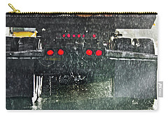 Log Truck In The Rain Carry-all Pouch