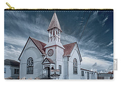 Carry-all Pouch featuring the photograph Loleta Church by Greg Nyquist