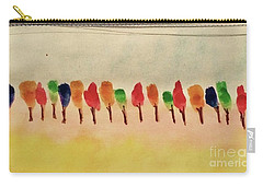 Lollipop Trees Carry-all Pouch by Kim Nelson