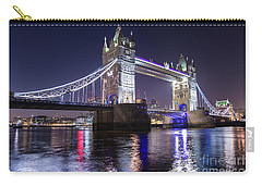 London # 21 Carry-all Pouch by Mariusz Czajkowski