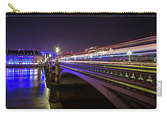 London At Night  Carry-all Pouch by Mariusz Czajkowski