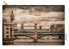London, England - London Bridges Carry-all Pouch