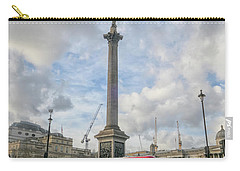 London Bus And Lord Nelson Carry-all Pouch