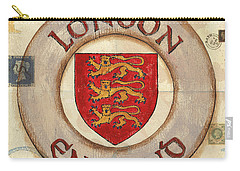 London Coat Of Arms Carry-all Pouch