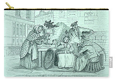 London Coffee Stall Carry-all Pouch