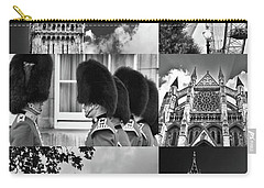 London Collage Bw Carry-all Pouch