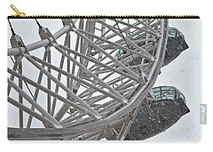 London Eye And Snow Carry-all Pouch