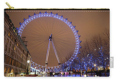 Carry-all Pouch featuring the photograph Big Wheel by David Chandler