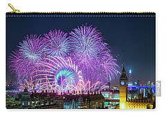 London New Year Fireworks Display Carry-all Pouch