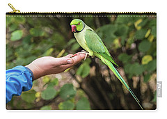 London Parakeet Carry-all Pouch