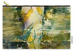 London Rain Theme Carry-all Pouch by Debbie Lewis