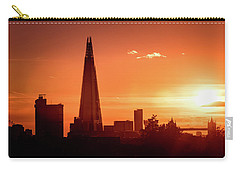 London Shard Sunset Carry-all Pouch