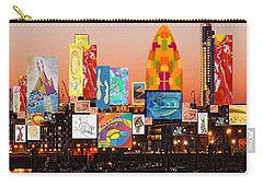 London Skyline Collage 2 Carry-all Pouch