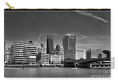 Carry-all Pouch featuring the photograph London Skyline by Lynn Bolt