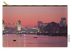 London Thames Carry-all Pouch by Thomas M Pikolin