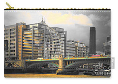 London Carry-all Pouch by Therese Alcorn
