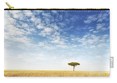 Lone Acacia Tree In The Masai Mara Carry-all Pouch