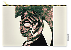 Carry-all Pouch featuring the painting Lone Bear by Larry Campbell