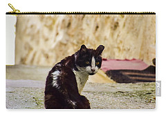Lone Cat Carry-all Pouch