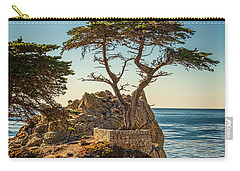 Lone Cypress Tree Carry-all Pouch