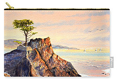 Lone Cypress Tree Pebble Beach Carry-all Pouch