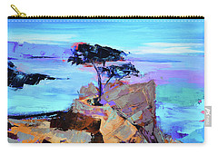 Lone Cypress Carry-all Pouch by Elise Palmigiani