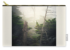 Carry-all Pouch featuring the photograph Lone Cyprus Tree by Craig J Satterlee