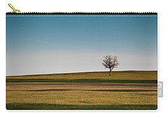 Lone Hawthorn Tree II Carry-all Pouch
