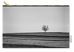Lone Hawthorn Tree Iv Carry-all Pouch by Helen Northcott