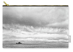 Carry-all Pouch featuring the photograph Lone Island In The Pacific by Jingjits Photography