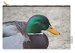 Lone Mallard Duck Carry-all Pouch