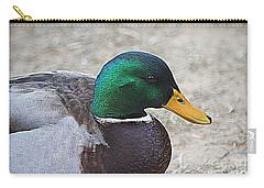 Lone Mallard Duck Carry-all Pouch