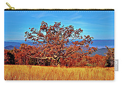 Lone Mountain Tree Carry-all Pouch
