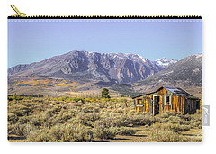 Carry-all Pouch featuring the photograph Lone On The Range  by Charles Garcia