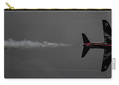 Lone Red Arrow Smoke Trail - Teesside Airshow 2016 Carry-all Pouch