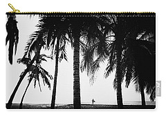 Carry-all Pouch featuring the photograph Lone Wolf by Nik West