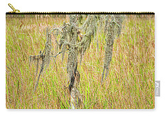 Carry-all Pouch featuring the photograph Lone Survivor by Andy Crawford