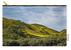 Lone Tree On The Plain Carry-all Pouch