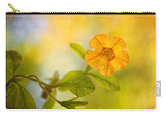 Lone Yellow Flower Carry-all Pouch